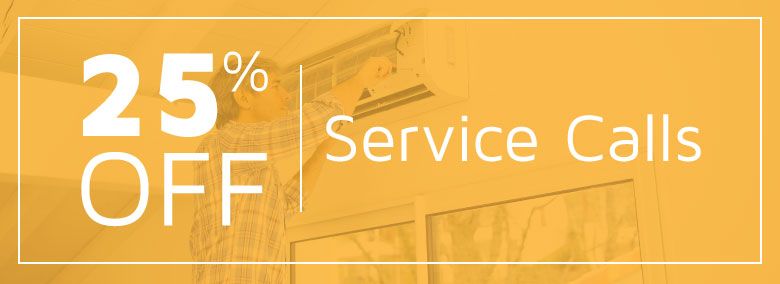 Get 25% off your next service visit!