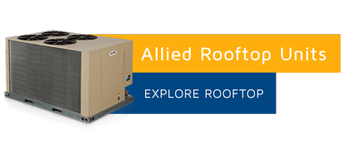 Allied Air Rooftop Furnaces & A/C systems are efficient commercial heating and cooling systems! Get Yours today!